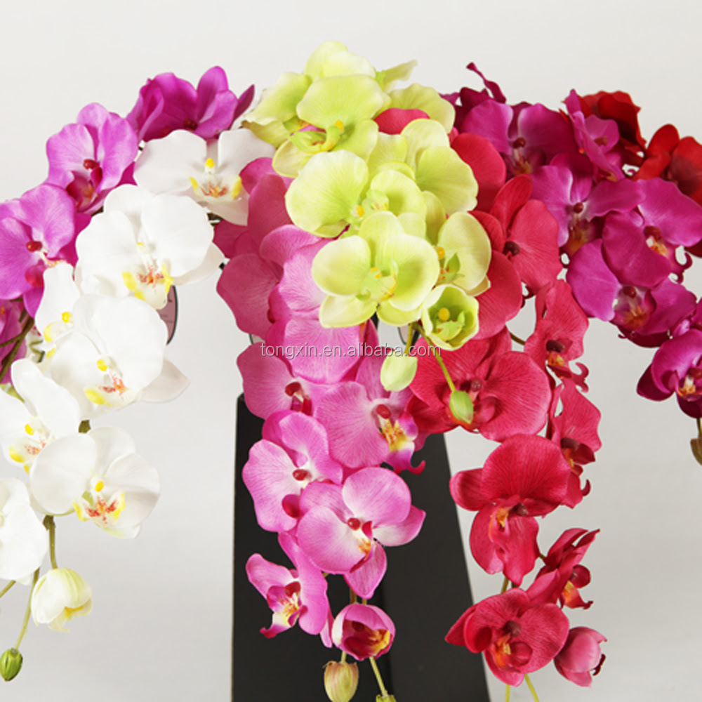 Orchids Cymbidium Silk Flower Wholesale Flores