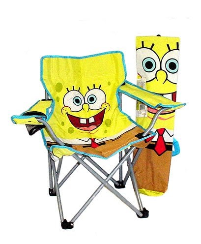 1 Low Price Kids Spongebob Square Pants Folding Camping