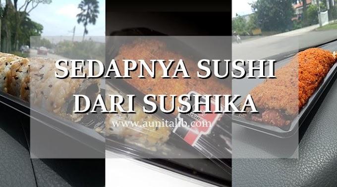 SEDAPNYA SUSHI DARI SUSHIKA