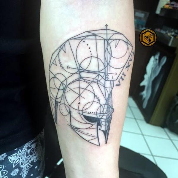 Valiant Gladiator Tattoo Designs (19)