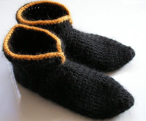 de fil en aiguille follow the yellow line boots. Black Bedroom Furniture Sets. Home Design Ideas