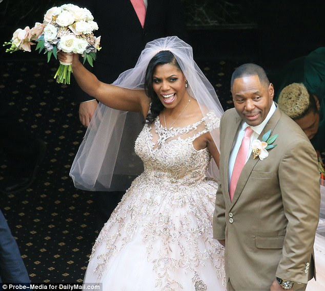 Image result for Omarosa Manigault-Newman, who is married to a pastor, had her boobs on display