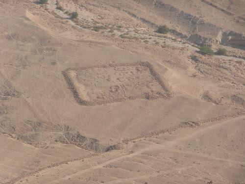 Roman encampment Masada