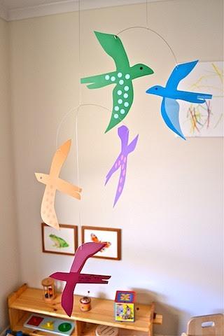 Bird Mobile by Puka Puka