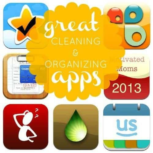 7 Great Cleaning and Organizing Apps » Daily Mom