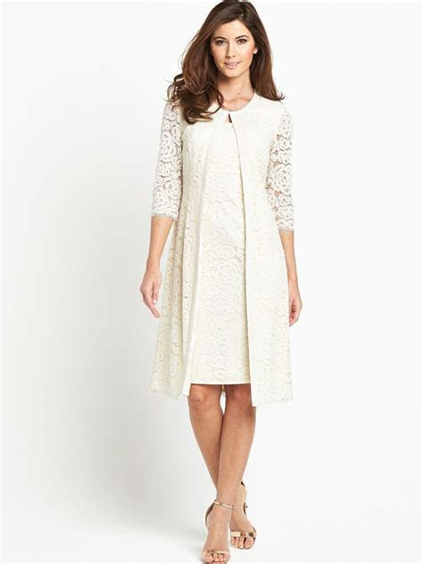 Berkertex Lace Coat and Dress   ideal for a low key