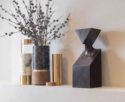 Handmade Home Decor Accessories In Bone Inlay Marble Brass Wood Gauri Kohli Home Living Usa