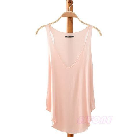 ?Fashion Sexy Soft ? Womens Womens V Neck Vest Summer