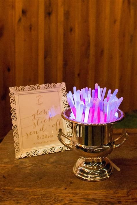 17 Best ideas about Glow Stick Wedding on Pinterest