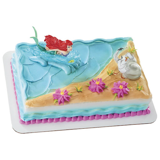 225 Little Mermaid Birthday Cake Kroger 337
