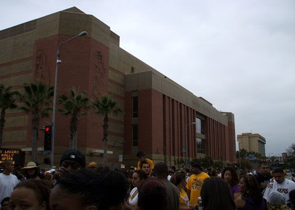 USC's Galen Center, where the school's basketball team plays.