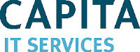 Capita logo - our first supporting partner