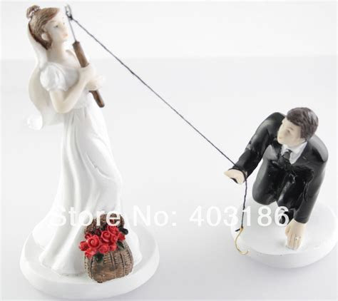 Funny fishing wedding cake toppers   idea in 2017   Bella