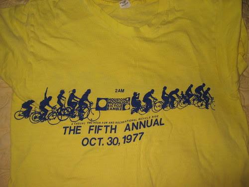 First Organized Bike Ride