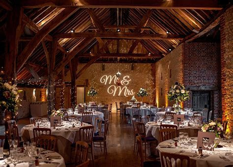 The Best Barn Wedding Venues in Surrey   The Barn at Bury