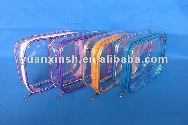 transparent pvc toiletry bag, View transparent pvc toiletry bag
