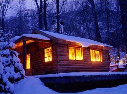 [Winter cabin from Apple]