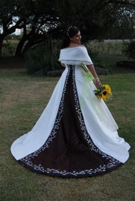Alfred Angelo Style 1516 Size 18 Chocolate/ivory Wedding