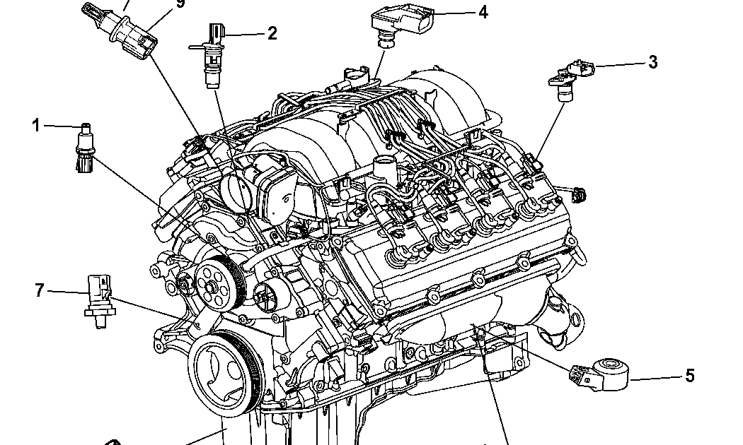Dodge Challenger Engine Diagram