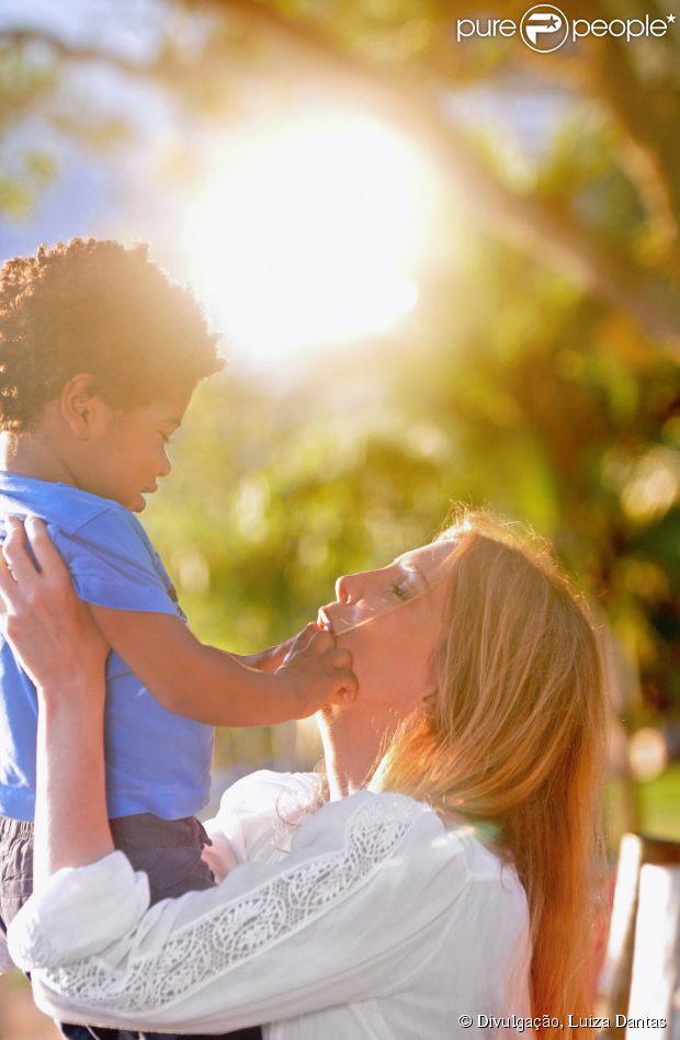 Maria Padilha ganhou a guarda definitiva de Manoel, de 2 anos. O processo de adoção durou um ano e sete meses