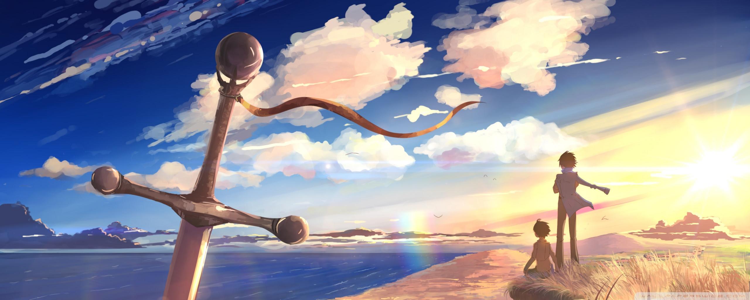 12+ Anime 1080p Dual Monitor Wallpaper