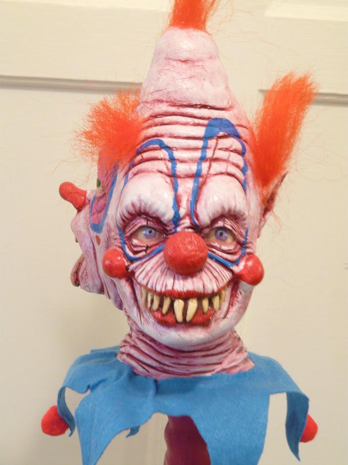 3faced Clown Monster by chuckjarman