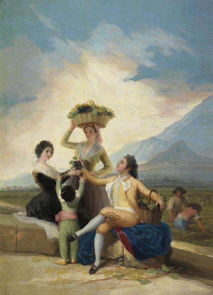 Goya: La Vendimia