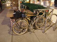 Bikes outside Whole Foods