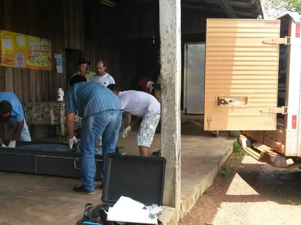 O corpo do caseiro, Elpídio Gomes da Silva, foi encontrado esfaqueado na zona rural de Guajará-Mirim e a Polícia ainda não prendeu os autores do crime. (Foto:  Leile Ribeiro / Arquivo pessoal)