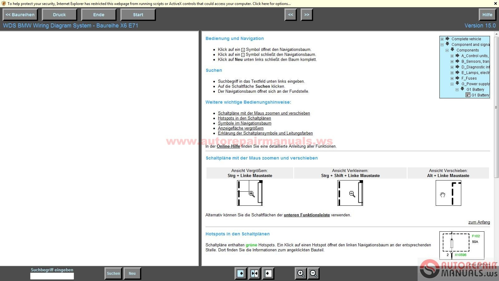 Free Auto Repair Manual   Bmw Wds V15 And Mini Wds V7 Wiring Diagram System