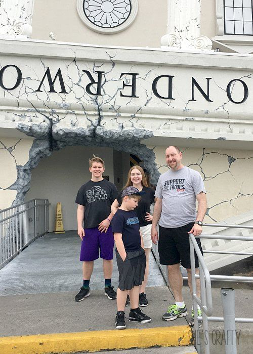 wonderworks in pigeon forge, family things to do in pigeon forge, family things to do in gatlinburg
