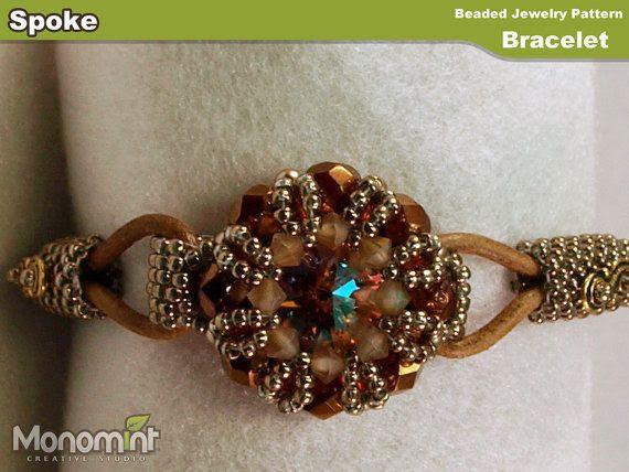 Bracelet Beading Pattern PDF - Spoke