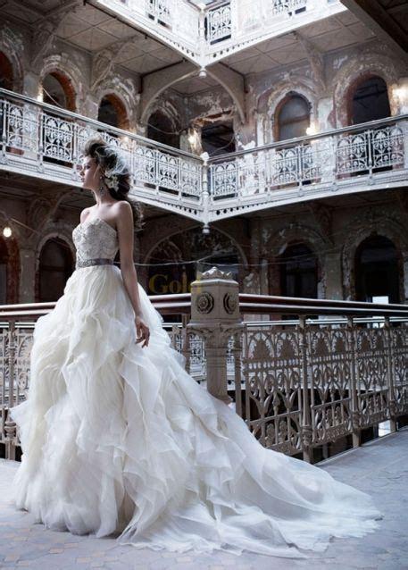 Karina Smirnoff's wedding dress. Lazaro. PERFECT!   Style