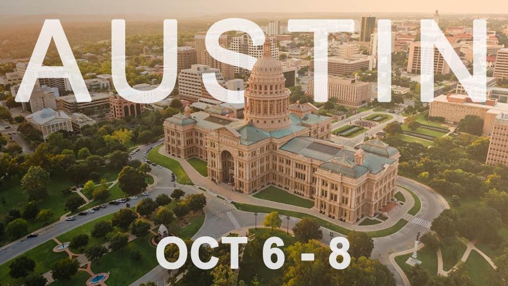 AUSTIN: Oct. 6-8
