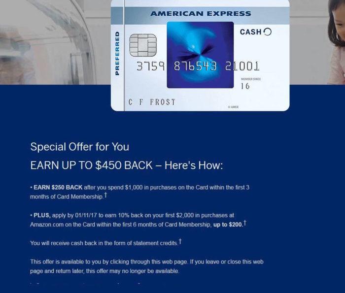 AmEx Blue Cash Preferred (BCP) (2016.10 Updated: $250+$200 ...