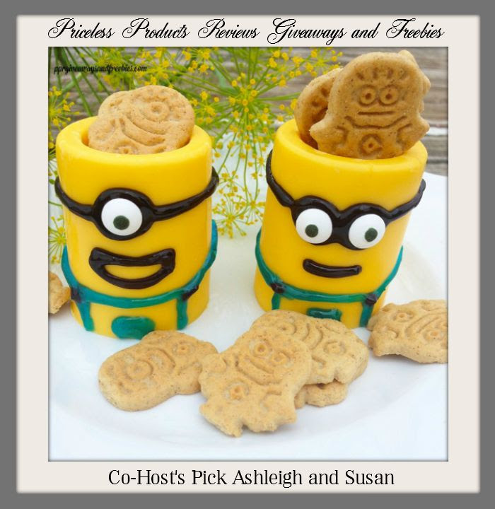 Priceless Products Reviews Giveaways and Freebies-Minion-Yellow-Chocolate-Cups-with-Graham-Crackers-7-19