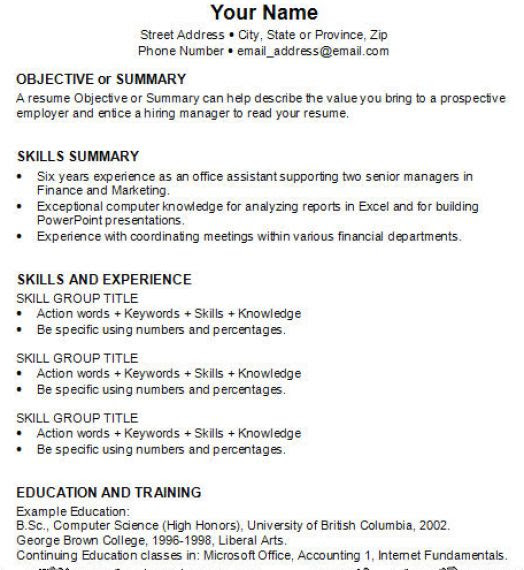 The Temptation News: Example Of Resume For Ojt