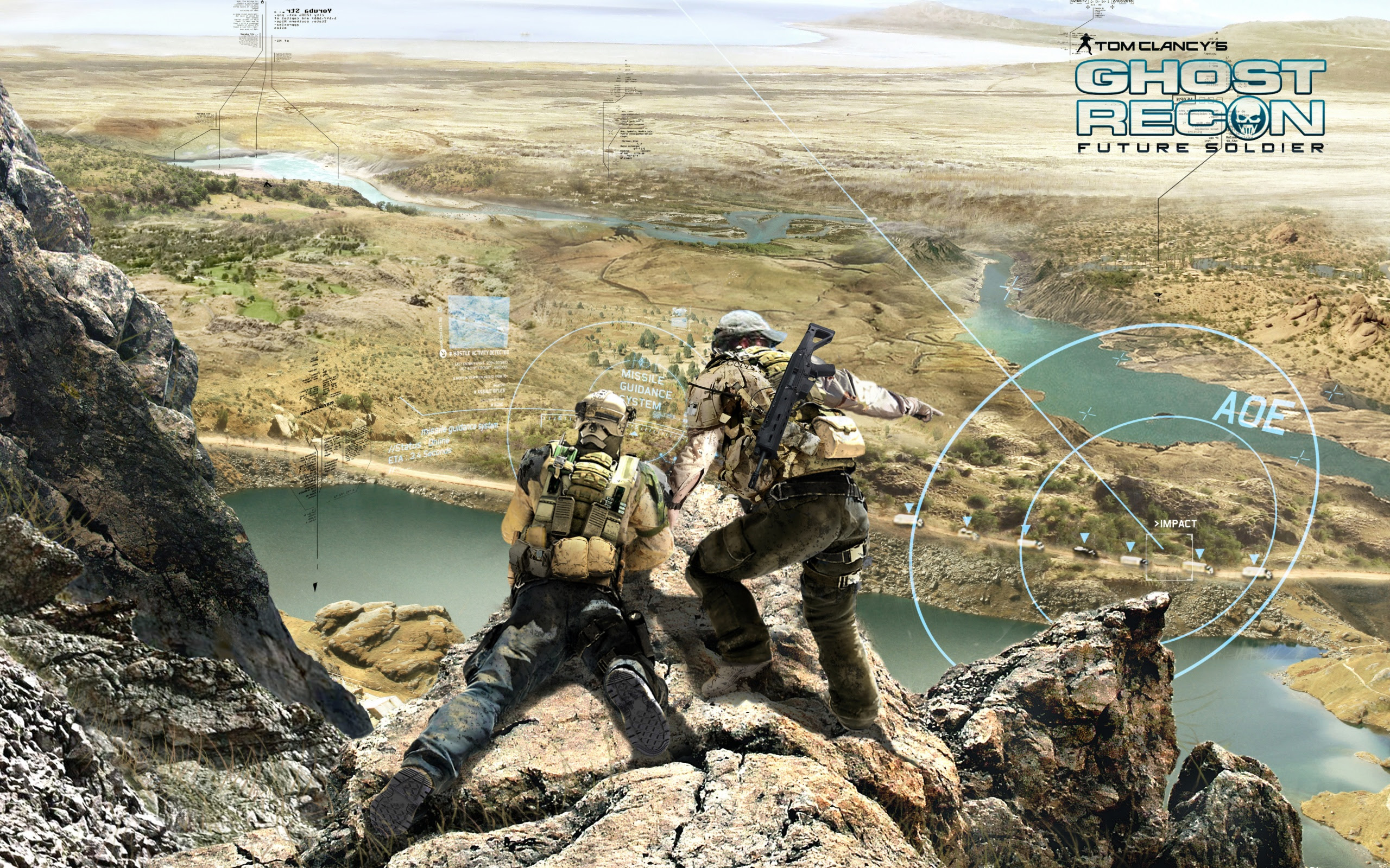 2012 Ghost Recon Future Soldier Game Wallpapers In Jpg Format For