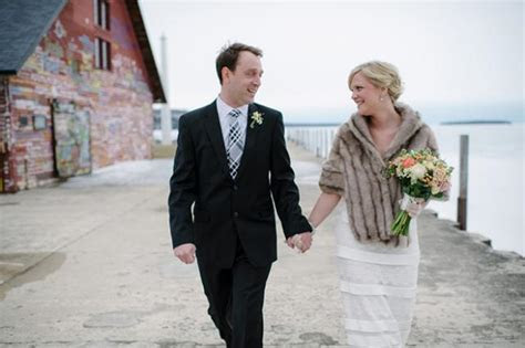 Baby, It's Cold Outside: A Winter Wedding in Door County