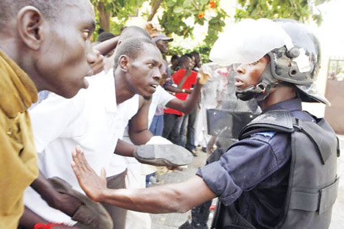 The masses in the West African state of Senegal have demonstrated demanding the ouster of President Wade. The unrest has developed over the last several months. by Pan-African News Wire File Photos