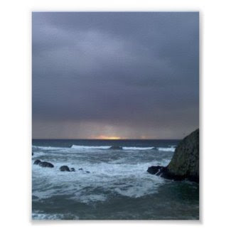 Seal Rock Oregon print