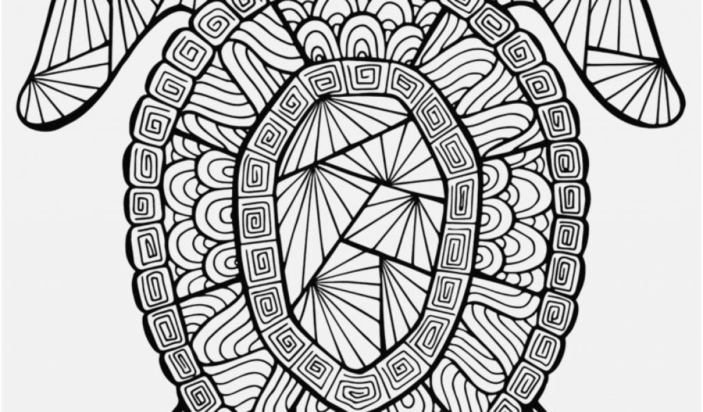 Sea Turtle Coloring Pages For Adults at GetColorings.com ...