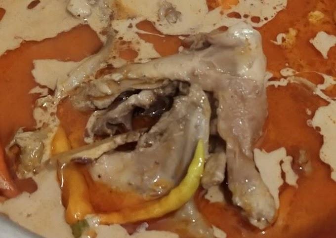 Resep Memasak Opor Ayam Kampung Sederhana Enak dan Lezat