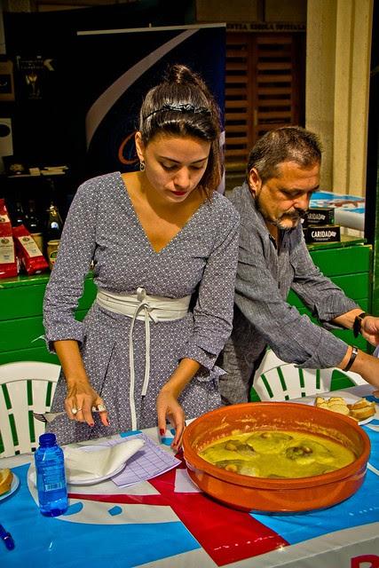 Ana Arias en el Cinegourland y los txokos de Getxo