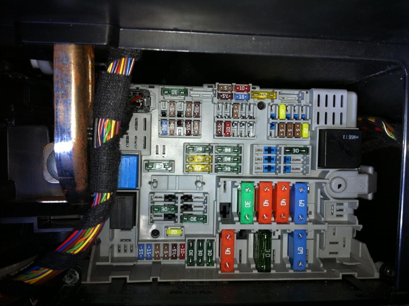 2008 Bmw X5 Fuse Box Diagram