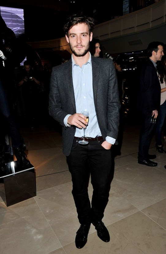 6 Roo Panes at the launch of The Britain at Burberry Regent Street, London