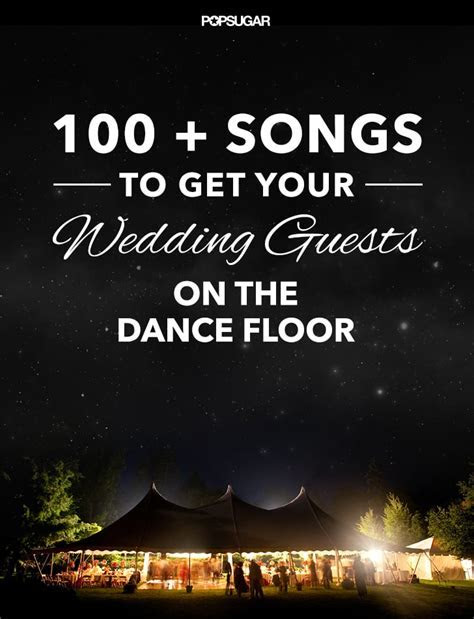 Best Dance Songs For a Wedding   POPSUGAR Entertainment