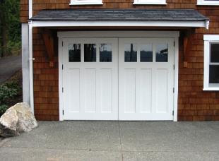 Hand-Made Custom Carriage Garage Door and REAL Swing out or Hinged ...