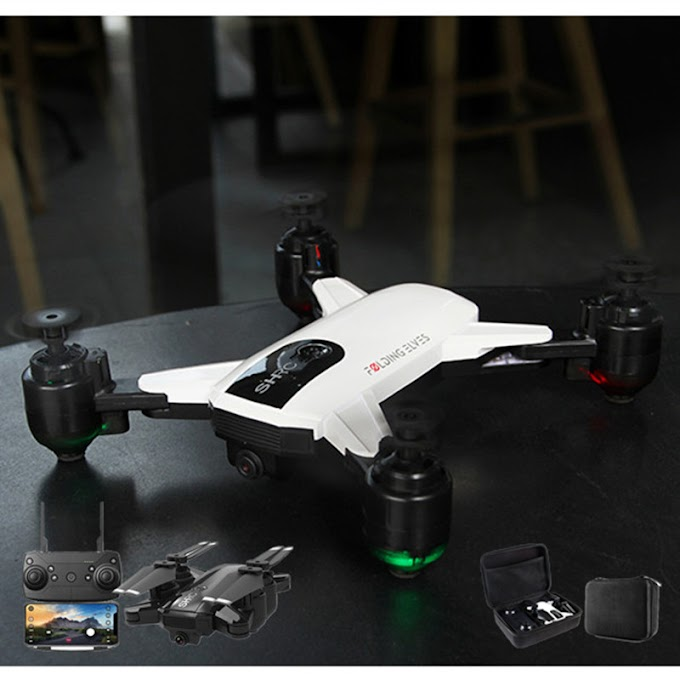 New Foldable Drone Camera 1080P HD Optical Flow Positioning 5G GPS Quadrocopter Altitude Hold WIFI FPV Folding RC Helicopter