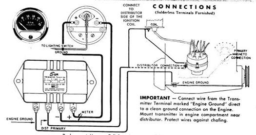 Wiring Diagram  13 Sun Super Tach 2 Wiring Diagram